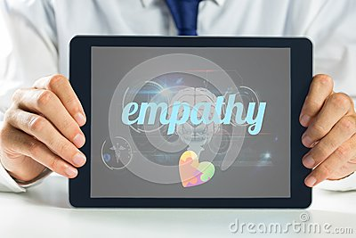 empathy-against-medical-biology-interface-black-word-autism-awareness-heart-53741313